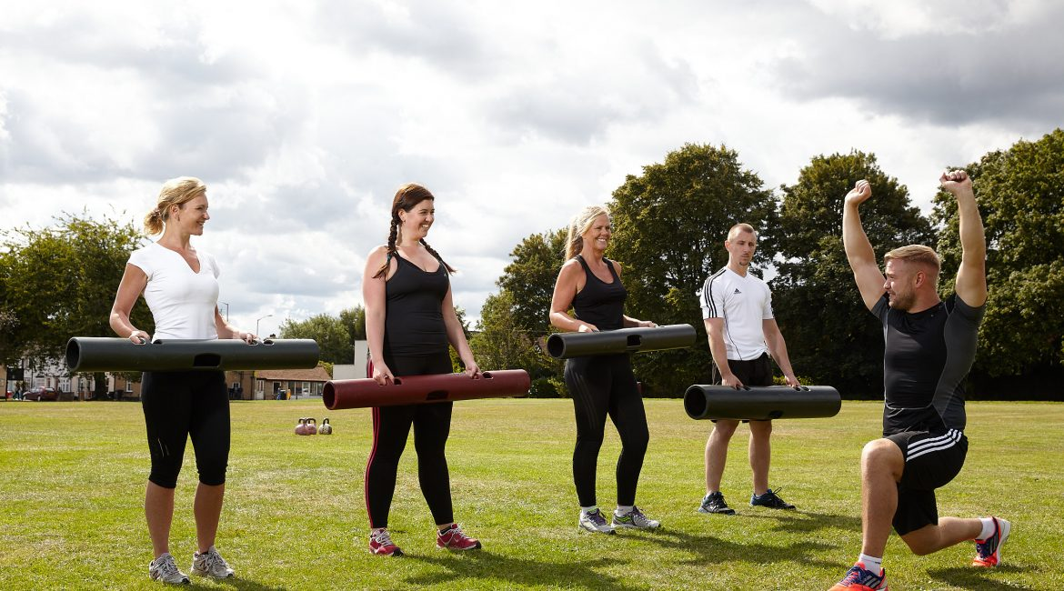 Outdoor Fitness Training with Ben Jackson
